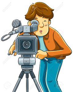 Afbeeldingsresultaat voor camera en filmen
